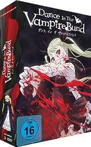 Dance in the Vampire Bund - Gesamtausgabe, Episoden 1-12 (inkl. Postkarten) [3 DVDs]