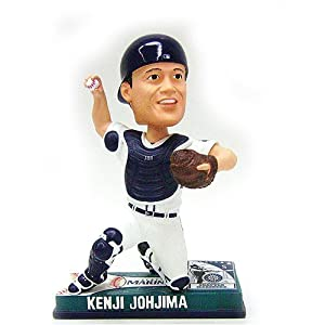 Forever Collectibles Seattle Mariners Kenji Johjima Action Bobblehead by Forever Collectibles