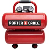 Factory-Reconditioned Porter-Cable PCFP02040R 1.1 HP 4 Gallon Oil-Lube Twinstack Air Compressor
