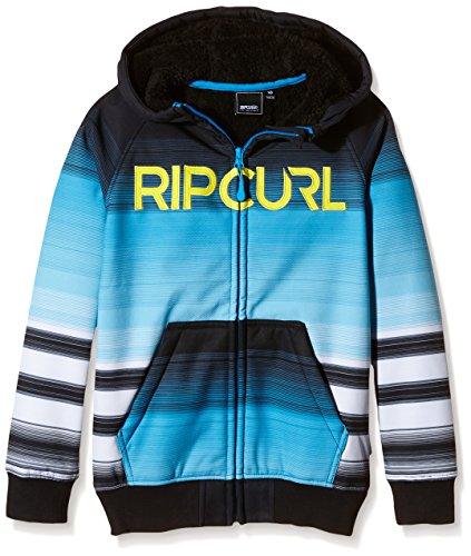 Rip Curl Icon Jr Fleece-Felpa tecnica per bambini MULTICOLORE blu / bianco 12