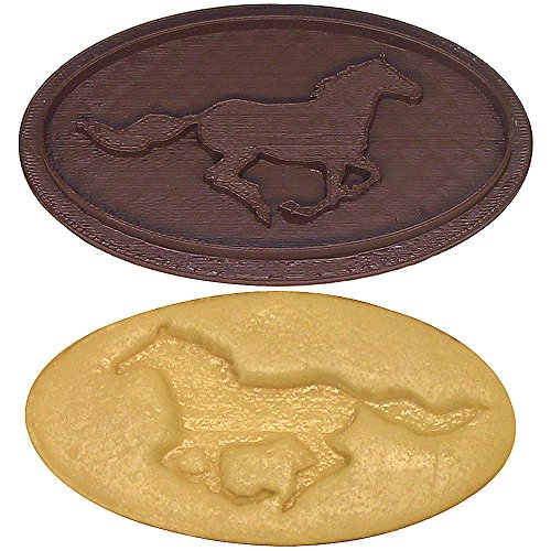 Race Horse Cookie Cutter Stamp 4 in