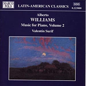 Williams Piano Music Vol2 from Marco Polo