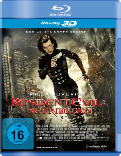 Resident Evil: Retribution [Blu-ray 3D]