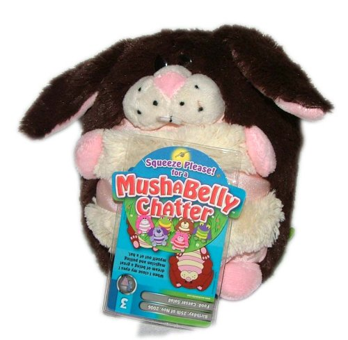 "Mushabelly Chatter 6"" - Harley the Bunny"