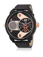 Joshua & Sons Reloj de cuarzo Man JX107BKR 52 mm