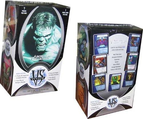 Imagen de Marvel VS DC Sistema de Trading Card Game Archive Collection 7 Packs + Bonus Card Rare