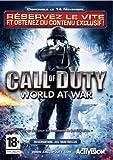 echange, troc Call of duty world at war - Pré-réservation