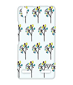 Vogueshell Nature Pattern Printed Symmetry PRO Series Hard Back Case for Lenovo A6000