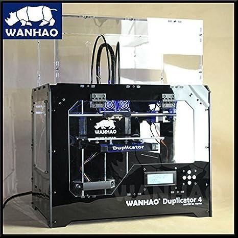 Wanhao Duplicator 4X- Black Casing - Dual Extruder - 3D Printer - PrintME 3D