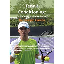 Tennis Conditioning: Cardio Tennis and Serve Training