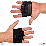 The Anti-Ripper Glove | Fit Four Callus Guard Fitness Gloves for WODs, Weightlifting & Cross Training Athletes - Premium Leather Palm