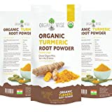 1 lb Organic Turmeric Root Powder by Organic Wise, Minimum 6.5% Curcumin Content. Certified USDA Organic by The Colorado Department of Agriculture and Packed in the USA, From A Family Owned Farm In India-Resealable Stand Up Pouch