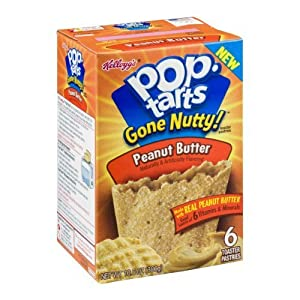 Kellogg's Pop-Tarts Gone Nutty! Peanut Butter - 6 CT