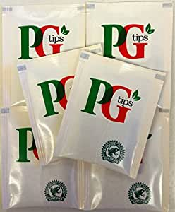 50 x PG Tips - Individual Enveloped Tagged Tea bags