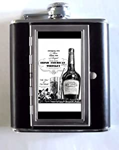 WILLIAM JAMESON IRISH WHISKEY VINTAGE 1937 5oz Flask Cigarette Case Wallet