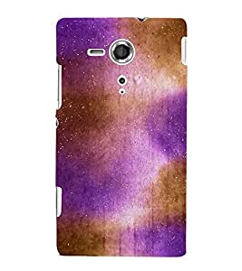 Sky World Stars 3D Hard Polycarbonate Designer Back Case Cover for Sony Xperia SP :: Sony Xperia SP M35h