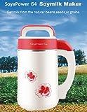 Soyapower G4 Soy Milk Maker, Almond Maker, Rice Milk Maker,...