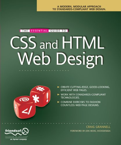 The Essential Guide to CSS & HTML Web Design (Essentials)