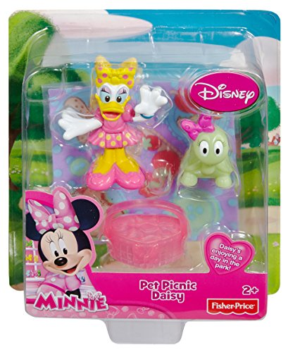 Fisher-Price Disney's Minnie Mouse Pet Picnic Daisy Toy - 1