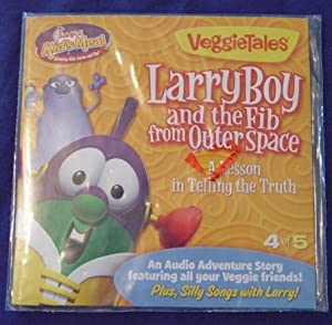 Amazon.com : VeggieTales LarryBoy and the Fib from Outer Space : Other