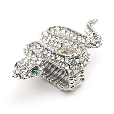 Crystal Snake Ring||RNWIT