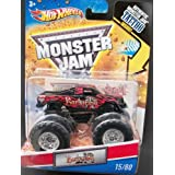 2011 Hot Wheels Monster Jam 1st Edition #15/80 BARBARIAN 1:64 Scale Collectible Truck With Monster Jam TATTOO