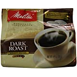 Melitta Coffee Pods for Senseo and Hamilton Beach Pod Brewers, Dark Roast , 4.44-Ounce,(Pack of 6)
