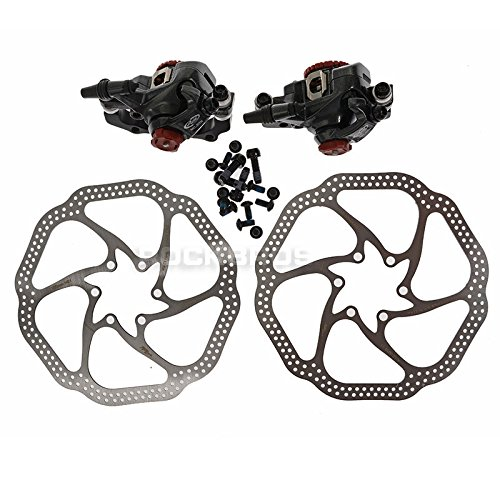 AVID BB7 Bike Bicycle Mechanical Disc Brake Front and Rear Caliper 160mm Rotor