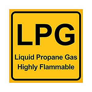 clickforsign Reflective LPG / Liquid Propane Gas Highly ...