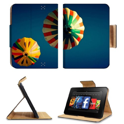=>  Colorful Hot Air Balloons Airborne Amazon Kindle Fire HD 7 [2012 Version Only September 14, 2012] Flip Case Stand Magnetic Cover Open Ports Customized Made to Order Support Ready Premium Deluxe Pu Leather 7 11/16 Inch (195mm) X 5 11/16 Inch (145mm) X 11/16 Inch (17mm) MSD Professional Kindle_fire Cases Kindle7 Accessories Build Model Graphic Background Covers Designed Model Folio Sleeve HD Template Designed Wallpaper Photo Jacket Luxury Protector
