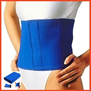 NEOPRENE SLIMMING BELT- One Size Fits Most - Targets Fat around Waist / Belly / Stomach Sontanas Cellulite Fat Burner