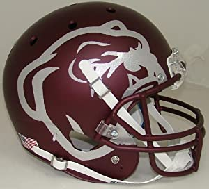 Mississippi State Alternate Red Bulldog Replica Full Size Football Helmet by Schutt