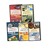 Simon Brett Simon Brett 5 Books 6 Titles Collection Pack Set RRP: £28.96 (The Torso in the Town, Death on the Downs , Murder in the Museum , The Body on the Beach, Death Under the Dryer / Blood at the Bookies)