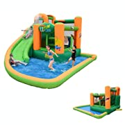 Endless Fun 11 in 1 Inflatable Bounce House and Water Slide Combo Unit