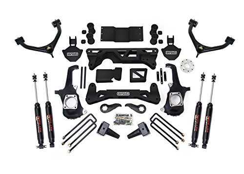 ReadyLift 44-3070 Lift Kit (ReadyLift Suspension 11-16 Chevy Silv/Sierra 2500/3500 HD 4wd - 7-8in w/ UCA) (8in Silverado Lift Kit compare prices)