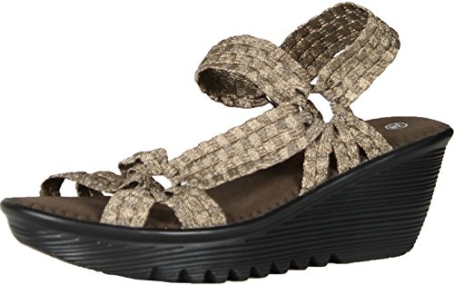 Bernie Mev Womens Crystal Sandal Bronze Size 39