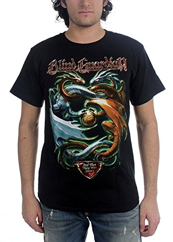 Blind Guardian - Uomo And Then There Was Silence T-Shirt In Nero, X-Large, B...