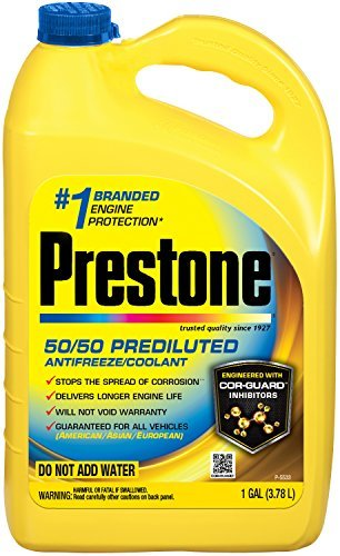 Prestone AF2100 Extended Life 50/50 Antifreeze - 1 Gallon by Prestone (Prestone Antifreeze 50 50 compare prices)