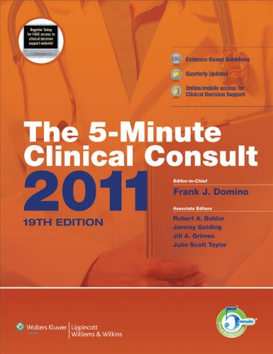 The 5-Minute Clinical Consult 2011 (Print, Website, and Mobile) (The 5-Minute Consult Series)
