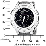 Casio Men's AQ160WD-1BV Ana-Digi Electro-Luminescent Sport Watch