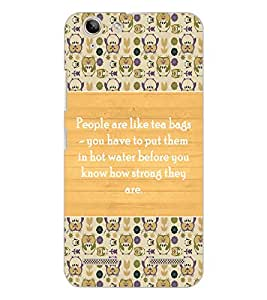 LENOVO K5 PLUS QUOTE Back Cover by PRINTSWAG