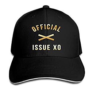 KMRR Official Issue XO Gold Logo Flex Baseball Cap Black