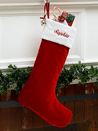 Top 5 Best Personalized Velvet Christmas Stockings For