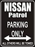 Parking only Sign - Parking only nissan patrol