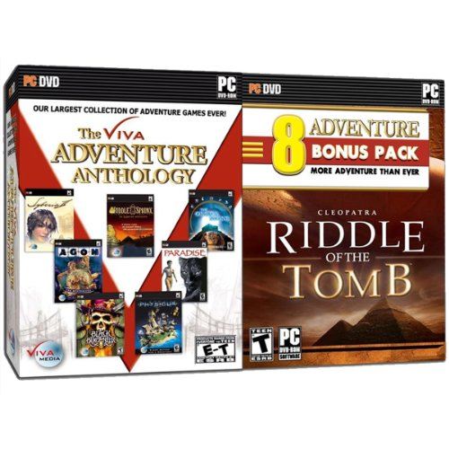 Viva Adventure Anthology Bonus Edition with Riddle of the Tomb - 8 Great Adventures in One - PC