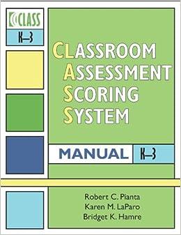 classroom assessment scoring system pdf