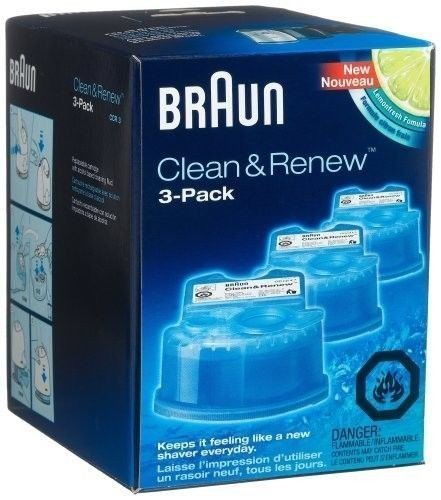 NEW Braun Series 3 5 7 CCR3 Shaver Clean & Renew Refills CONTAINS Men by Sawan Shop (Braun Series 3 Self Cleaning compare prices)