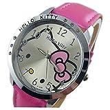 Lovely Fashion Hello Kitty watches Girls Ladies Wrist Watch WKT@DGW985P