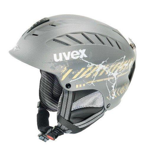 uvex x-ride motion graphic - black/gold - XS-M Skihelm Snowboardhelm Helm Ski Snowboard