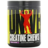 Universal Nutrition Creatine Chews, Grape Flavor, 144-Count